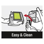 Самый простой фильтр для забора без загрязнения контактов