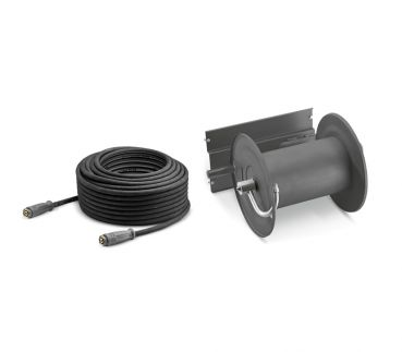 Kärcher Hose reel attachment kit with 40 m hp hose for HD 16/15-4 Cage, HD 20/15-4 Cage