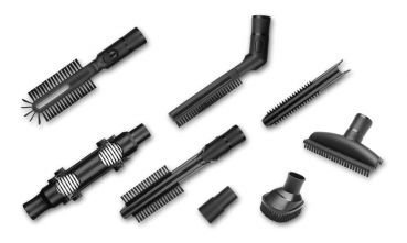 Kärcher VC Cleaning Kit accessory nozzle set for vacuum cleaner