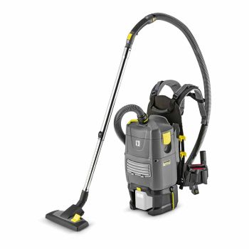 Karcher's BV 5/1 Bp back pack vac, cable-free