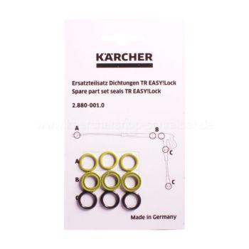 Kärcher O-Ring Set Easy!Lock  TR (9 pcs.)