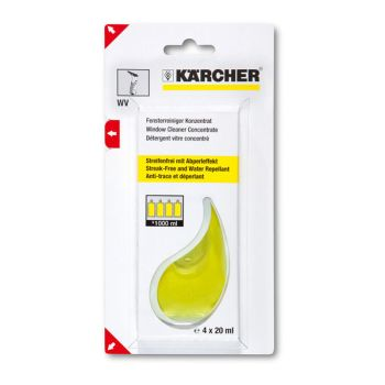 Kärcher Glass Cleaning Concentrate 4 x 20 ml