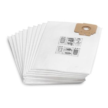 Kärcher Vleece filter bags, 10 pcs. (CV)