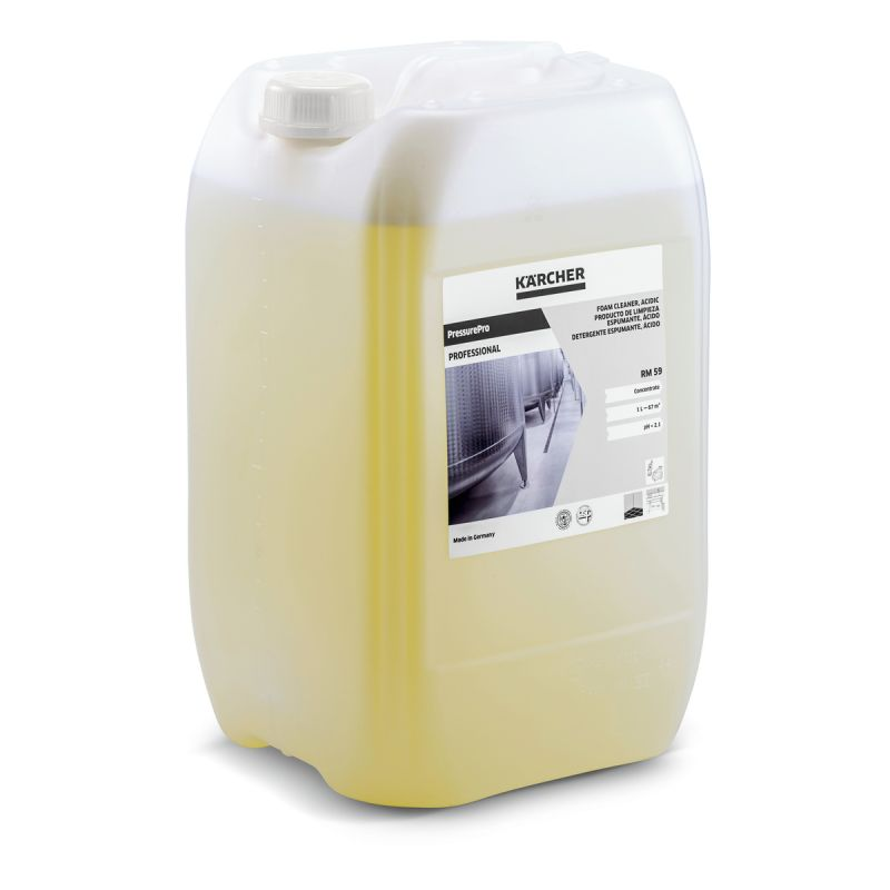 Foam cleaner, acid, RM 59 ASF (20 l)